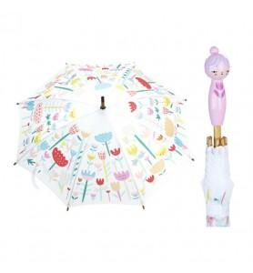 Parapluie rose Fleurs Suzy...