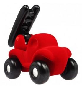 Camion de pompier rouge