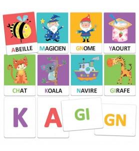 Flashcards alphabet tactile...