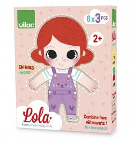 Puzzle Lola à habiller