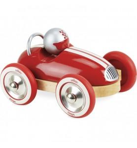 Voiture roadster vintage rouge