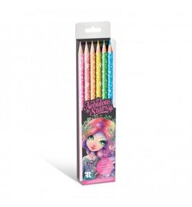 Crayons de couleurs néon