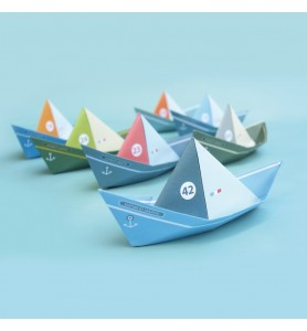 Les bateaux flottants