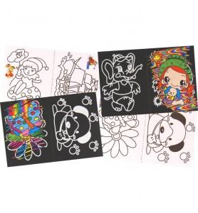 Mini cartes à gratter