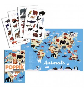 Poster en stickers Animaux...