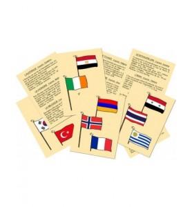 A qui sont ces drapeaux