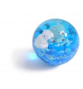 Balle rebondissante ours...