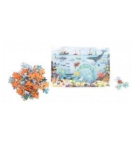 Puzzle 96 pièces l'océan Le...