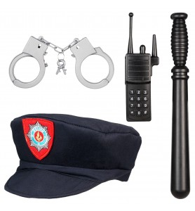 Policier taille 4-7 ans