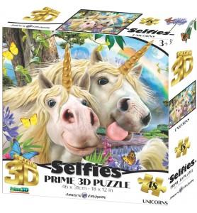 Puzzle 3D 48 pièces selfie...