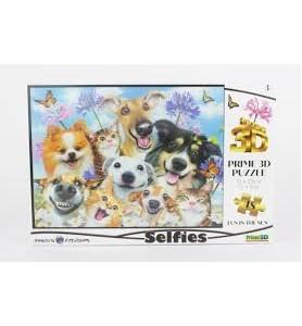 Puzzle 3D 48 pièces selfies...