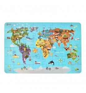 Puzzle 48 pièces Pays du monde