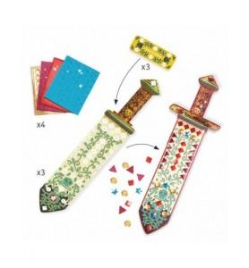 Sabres mosaïques à décorer...