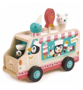Camion de crème glacée...