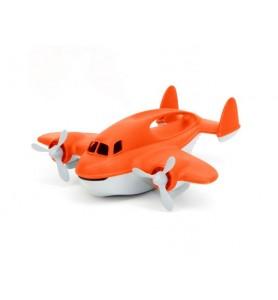 Avion anti incendie rouge