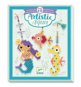 Artistic aqua marins