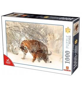 Puzzle 1000 pièces tigre...
