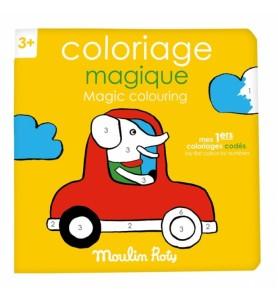 Cahier de coloriage...