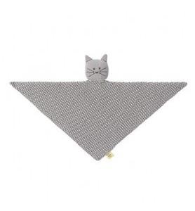 Doudou plat tricoté en...
