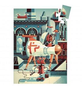 Puzzle 36 pièces Bob le robot