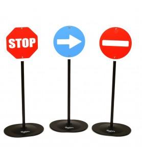 Panneaux de signalisation...
