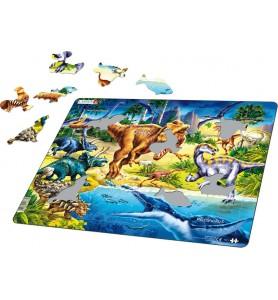 Puzzle 57 pièces plateau...
