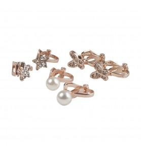 Boucles d'oreilles clip dazzle
