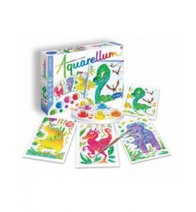 Aquarellum junior dinosaures