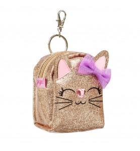 Porte monnaie Quinn chat or