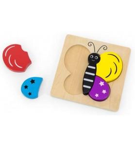 Puzzle encastrement Papillon