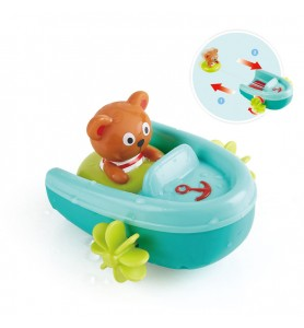 Teddy et son bateau