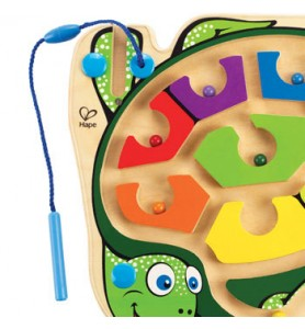 Labyrinthe magnétique tortue