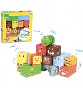 Cubes sonores animaux de la...