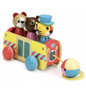 Bus à trainer par Ingela P....