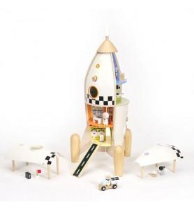 Fusée base spatiale