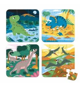 Puzzles évolutifs dinosaures