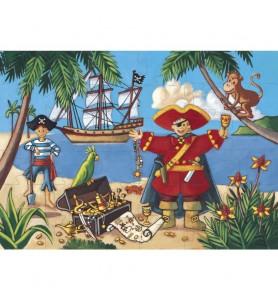 Puzzle 36 pièces Le pirate...