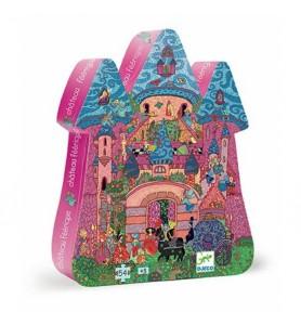 Puzzle 54 pièces château...