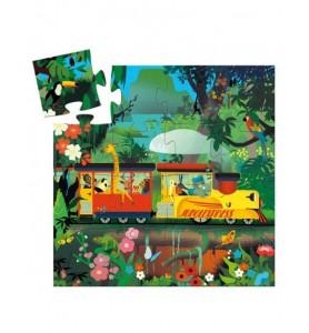 Puzzle 16 pièces la locomotive