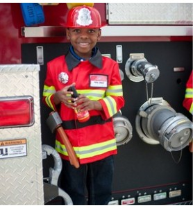 Pompier avec accessoires...