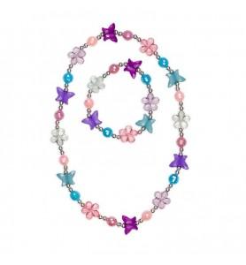 Collier et bracelet Flutter...