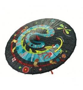 Parapluie dragon et libellule